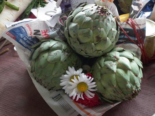 bouquet artichaut